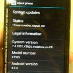 Motorola RAZR HD global se muestran más especificaciones