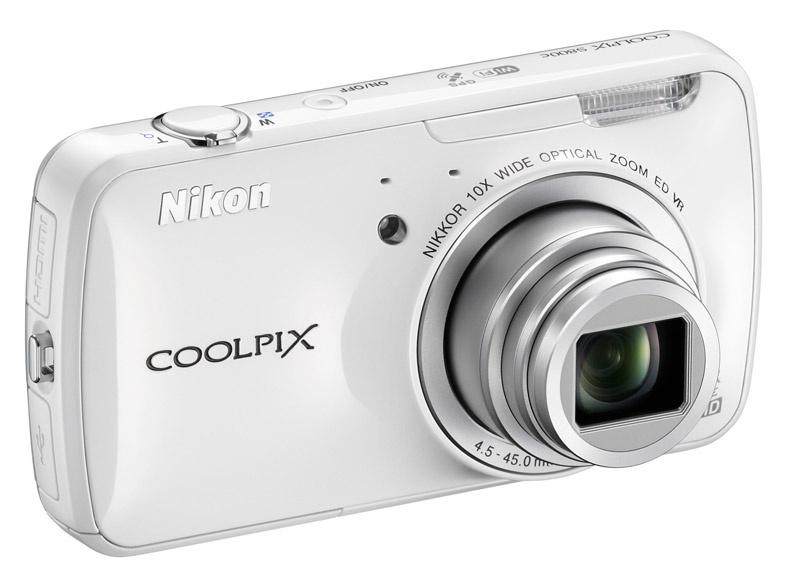 Nikon Coolpix S800c la cámara con Android