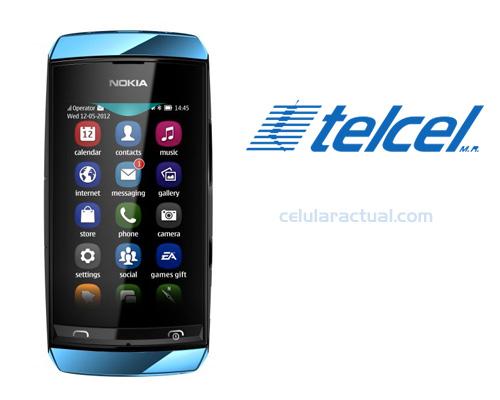 Nokia Asha 306 ya en México con Telcel