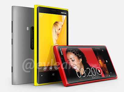 Nokia Lumia PureView 920 y Lumia 820 con Windows Phone 8