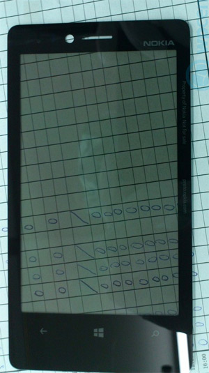 Pantalla de un Nokia con Windows Phone 8 prototipo