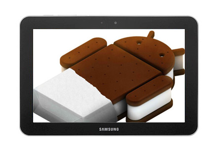 Samsung Galaxy Tab 8.9 Wi-Fi con a Android 4.0 Ice Cream Sandwich