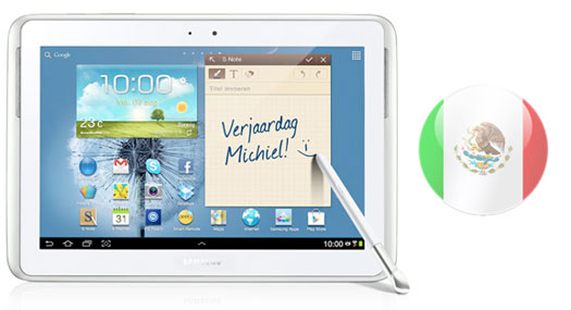 Samsung Galaxy Note 10.1 en Mexico