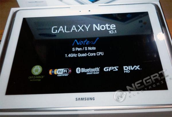 Samsung Galaxy Note 10.1 comienza preventa