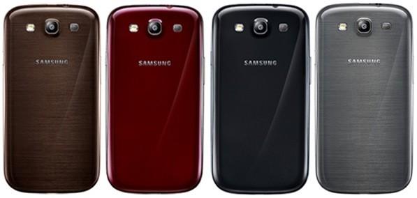 Samsung Galaxy S III nuevos colores