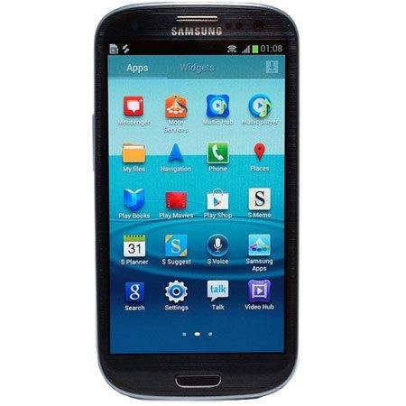 Samsung Galaxy S III en negro