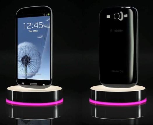 Samsung Galaxy S III en color negro