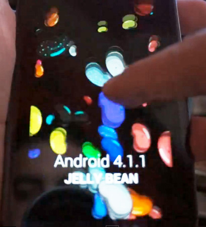 Samsung Galaxy S III con Android Jelly Bean 4.1.1