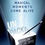 Samsung anunciará el Galaxy Note 2 en el Unpacked event en Agosto 29