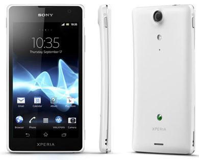 Sony Xperia GX y Xperia ion son estrenados oficialmente