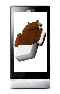 Sony Xperia P con Android 4.0 Ice Cream Sandwich