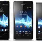Sony presenta sus smartphones Xperia T, Xperia V y Xperia J