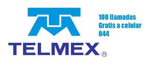 Telmex 100 minutos gratis a Celular en México