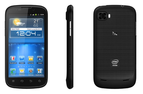 ZTE Grand X IN con Intel y Android