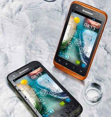 Lenovo A660 Android Ice Cream Sandwich a prueba de agua