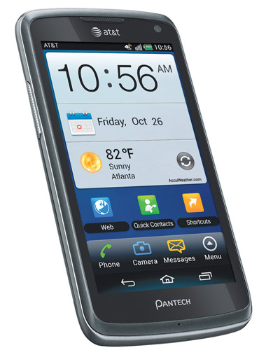 Pantech Flex con Android Ice Cream Sandwich