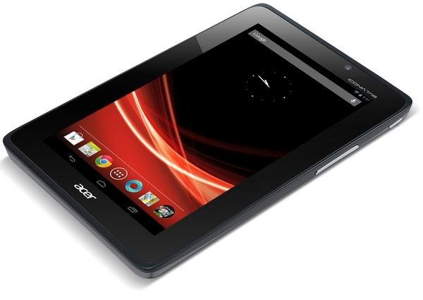 Acer Iconia Tab A110 con Android 4.1 Jelly Bean