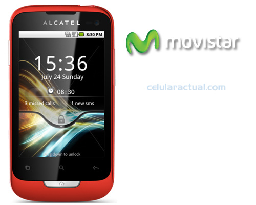 Alcatel OT 985A con Movistar México