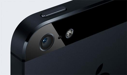 iPhone 5 cámara 8 megapixeles