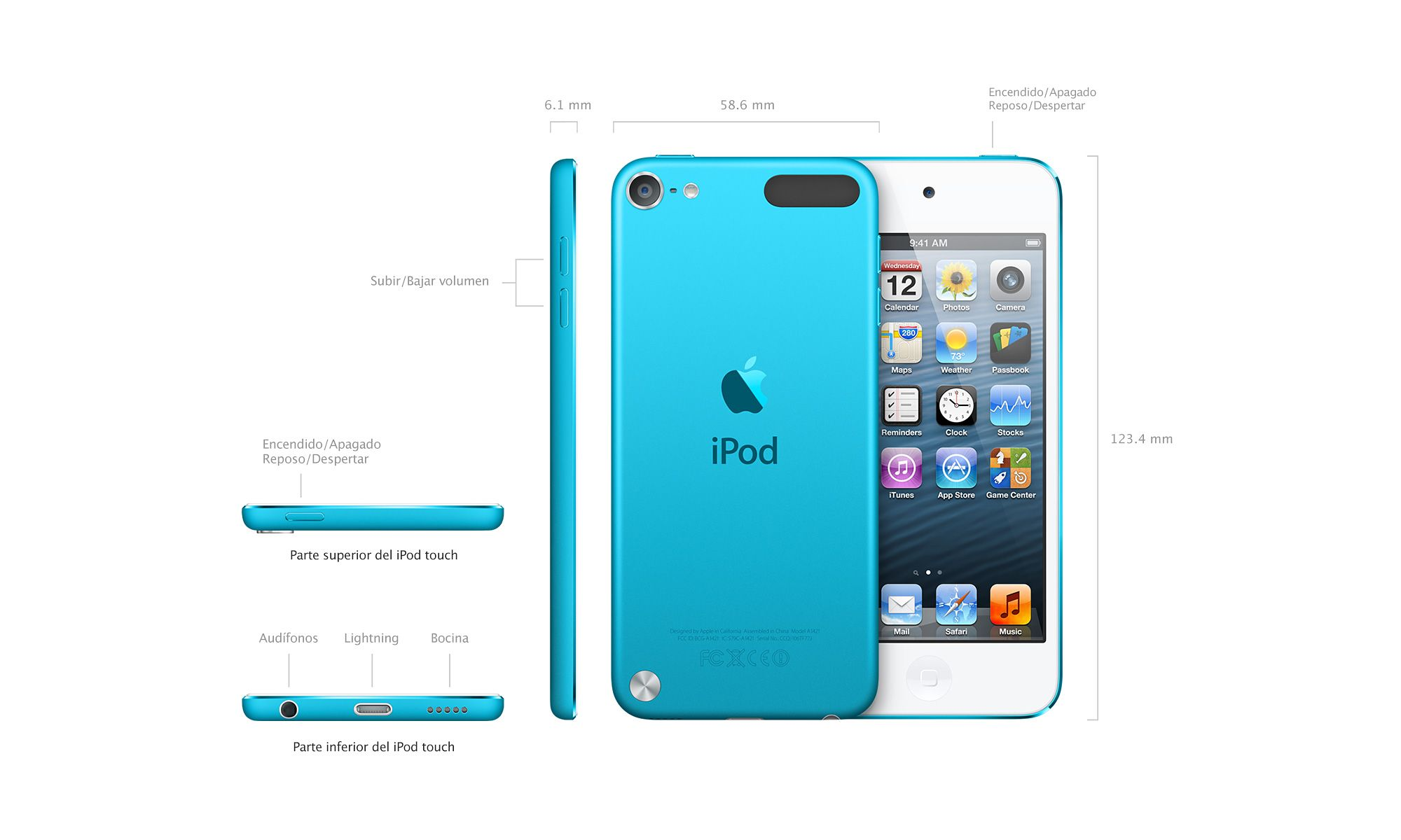 Apple iPod Touch 5 2012