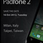 Asus Padfone 2 se presentará el 16 de octubre