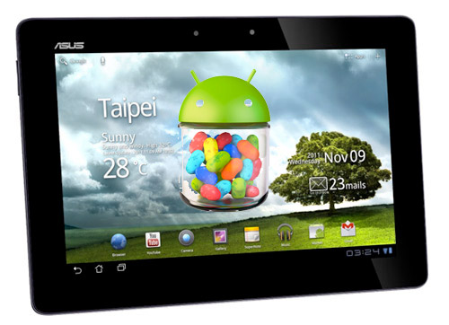 ASUS Transformer Prime y Transformer Infinity reciben Android 4.1 Jelly Bean