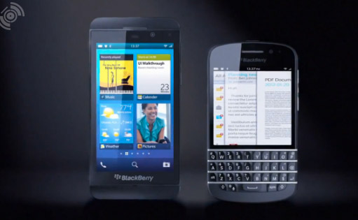 BlackBerry 10 L y N con teclado QWERTY aparecen en video