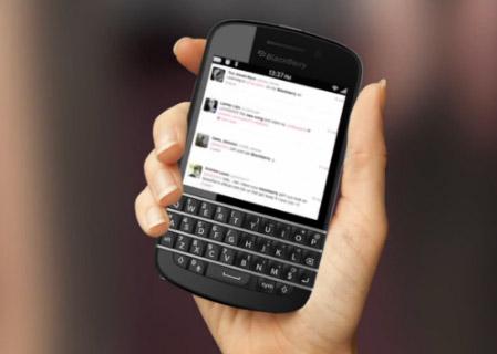 BlackBerry 10 N series teclado QWERTY