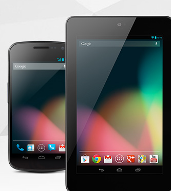 Google Nexus smartphone y tablet