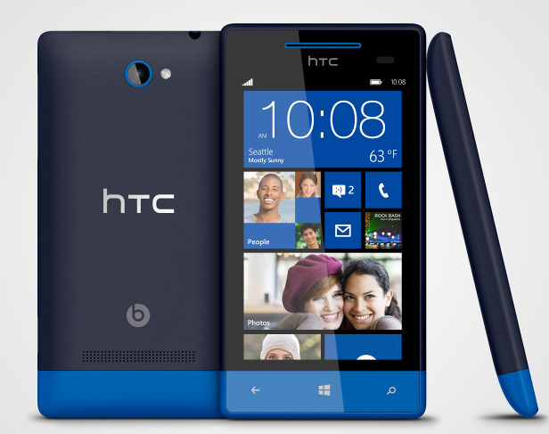 HTC 8S con Windows Phone 8 DUal-core a 1.5 GHz