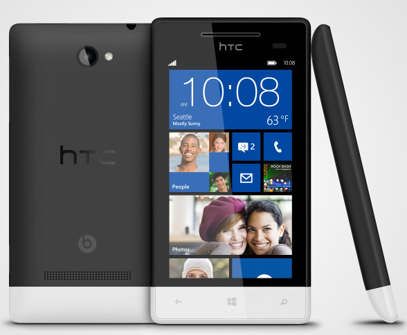 HTC 8S con Windows Phone 8 DUal-core a 1.5 GHz