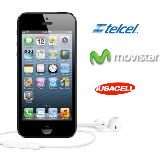 Apple iPhone 5 Telcel LTE, Movistar LTE y Iusacell 4G