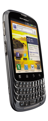 Motorola Master un Android 2.3 en Nextel México Pantalla