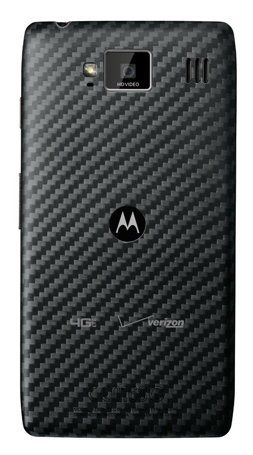 Motorola RAZR HD Maxx trasera cámara
