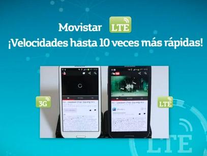 Movistar Red LTE en México más rápida
