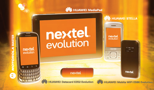 Nextel Evolution red HSPA+ en México