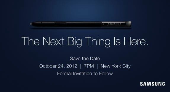 Samsung Invitación The Next Big Thing