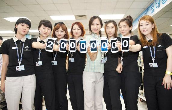 Samsung 20 millones de Galaxy S III en 100 días