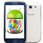 Samsung Galaxy S III comienza actualización a Android 4.1 Jelly Bean y lista de los siguientes