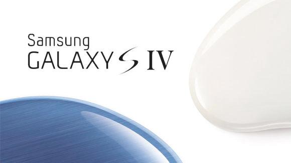 Samsung Galaxy S iV logo maqueta
