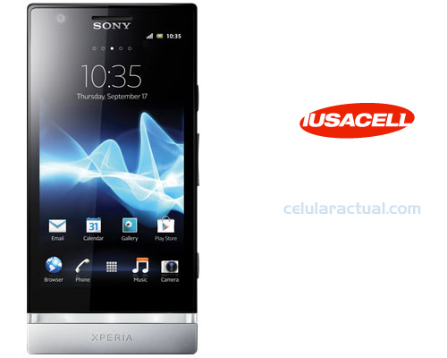 Sony Xperia P Iusacell México