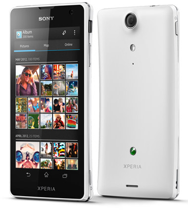Sony Xperia TX en México color blanco