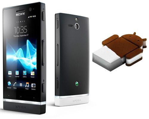 Sony Xperia U con Android Ice Cream Sandwich