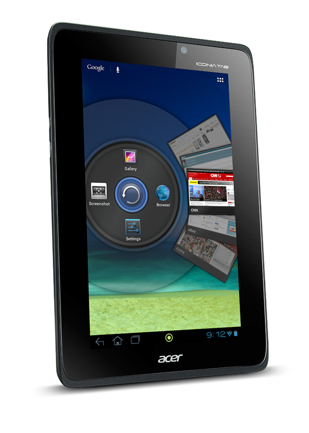 Acer Iconia Tab A110 con Jelly Bean