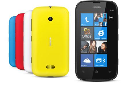 Nokia Lumia 510 colores