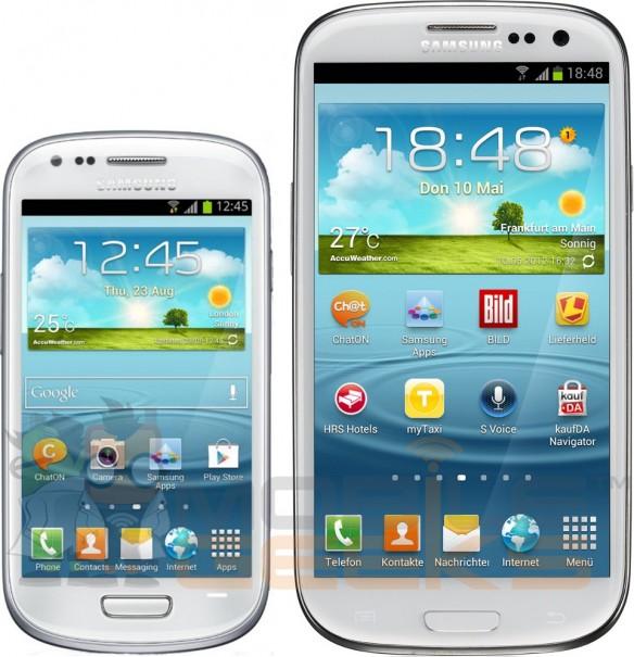 Samsung Galaxy S III mini y Galaxy S III