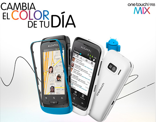 Alcatel One Touch 918 Mix pronto en México con Telcel
