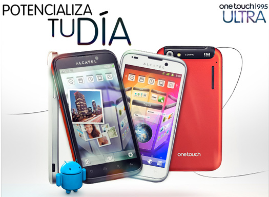 Alcatel One Touch 995 Ultra con 1.4 GHz pronto en México con Telcel