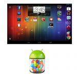Android 4.1.2 Jelly Bean llega a la Nexus 7 con la pantalla del Inicio en modo landscape