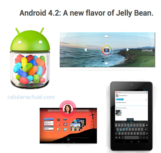 Android 4.2 Jelly Bean con Photo Sphere, Soporte multiusuario y más